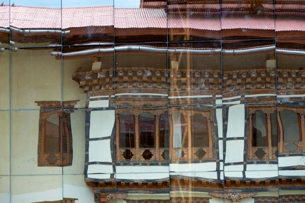 Bhutan reflection